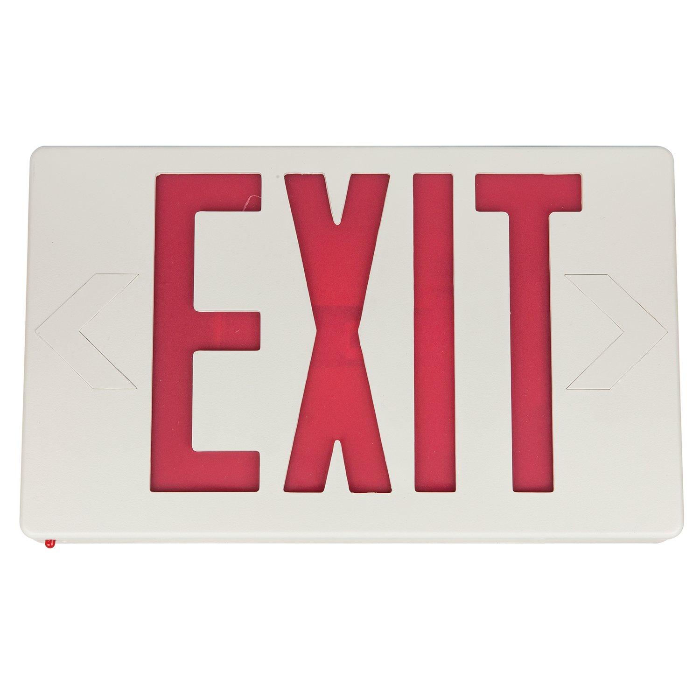 Sunlite 04308-SU EXIT/SU/1-2F/R/W/EM Exit Light