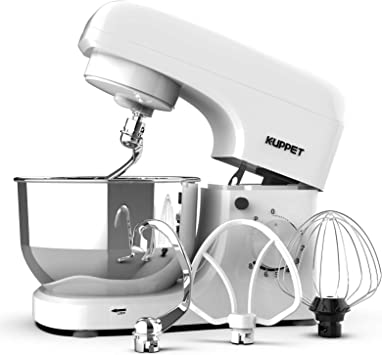 Kuppet 8-Speed Stand Mixer With Tilting Head And Attachments
