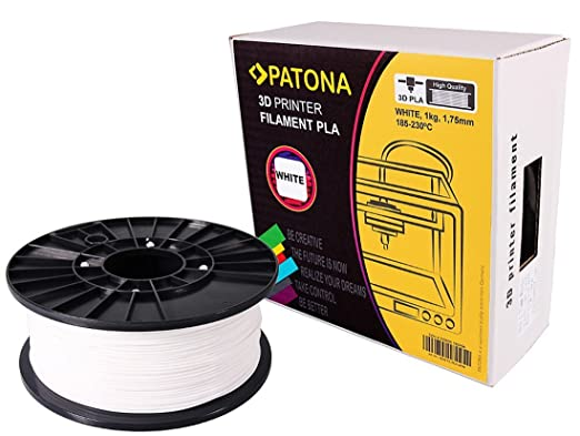 2 opinioni per Stampante 3D Patona Filament PLA bianco (bobina / 1Kg / 1,75 millimetri)