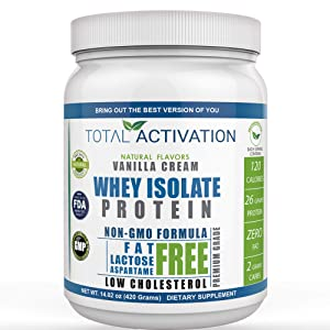 Total Activation Whey Isolate Protein
