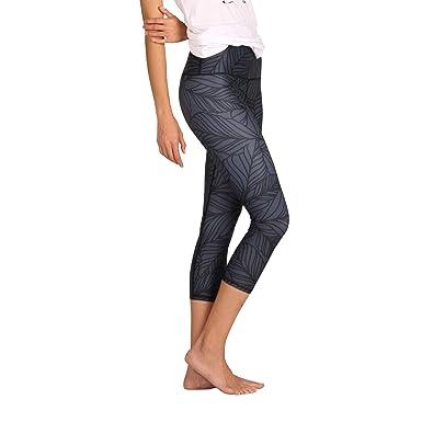 584d6b7c4e608 Yoga Democracy Eco-Friendly Urban Camo in Slate Leggings (Crops) at ...