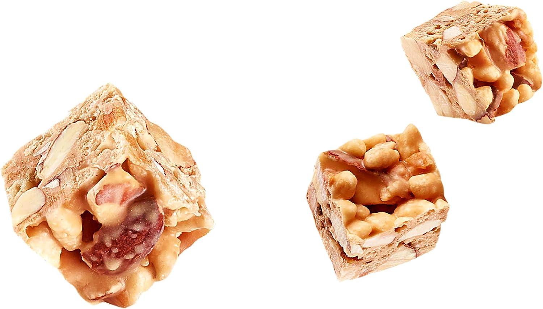 El Almendro - Cubits de Almendra y Caramelo a la Sal - 4x25 gr - Sin Gluten - Sin Aceite de Palma - Sin Aromas Artificiales: Amazon.es: Alimentación y bebidas