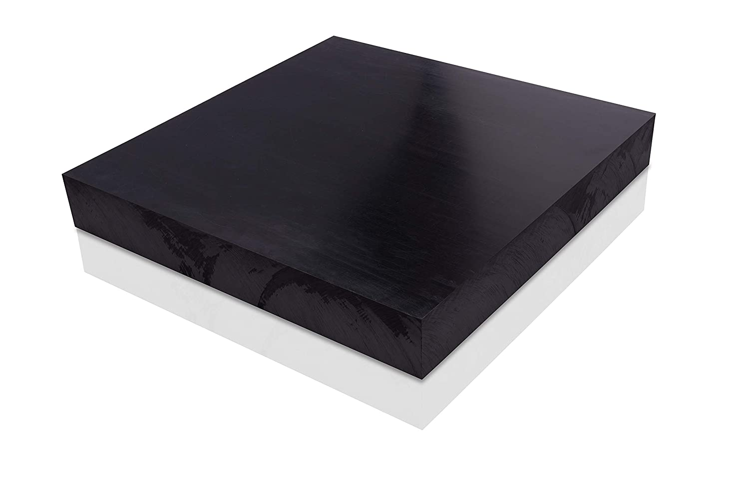 """Acetal Plastic Sheet 1/"""" x 12/"""" x 24/"""" Delrin Black Color Free Shipping"""