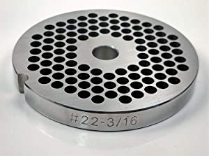 Food Service Knives #22 Meat Grinder Plate (3/16 in.)