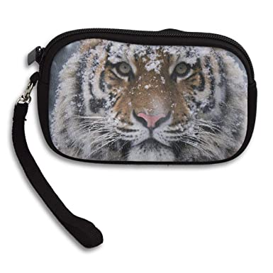 Amazon.com: Monedero de tigre frío personalizado billetera ...