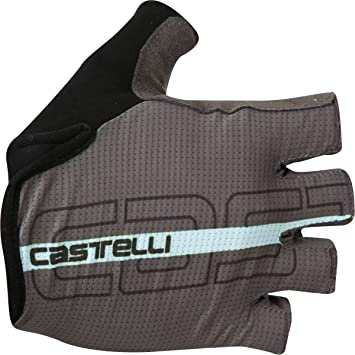 Castelli Circuito Forest Gray Cycling Gloves Available in different sizes