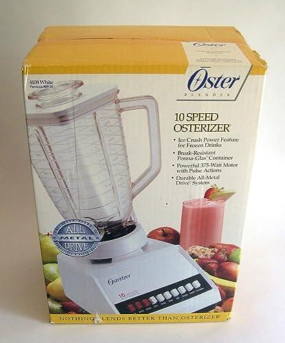 Oster Blender 10 Speed 5 Cup Plastic Jar