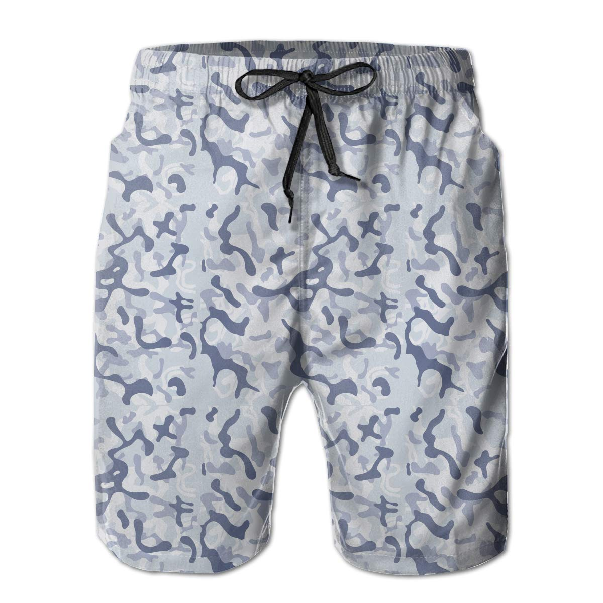 Fashion Swim Trunks Mens Board Shorts Camo Joggers Women Purple Quick Dry Shorts