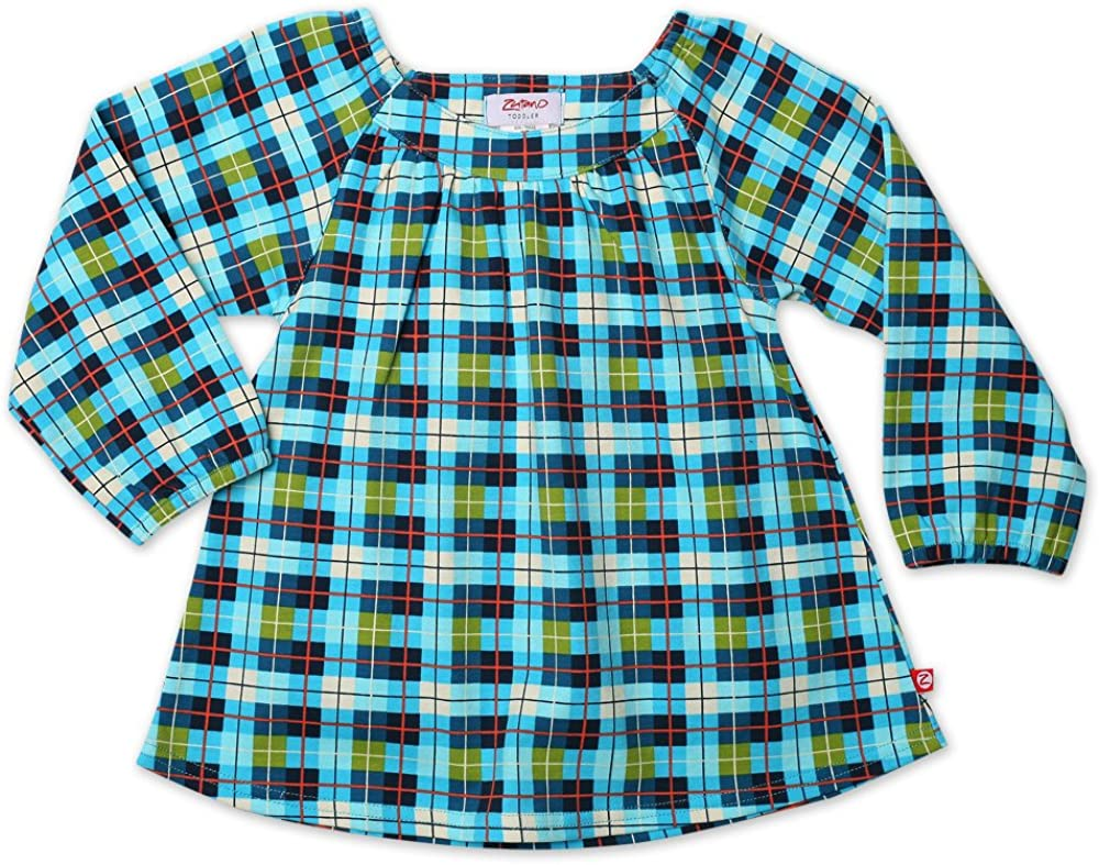 Zutano Baby Girls Penny Lane Long Sleeve Wrap Dress