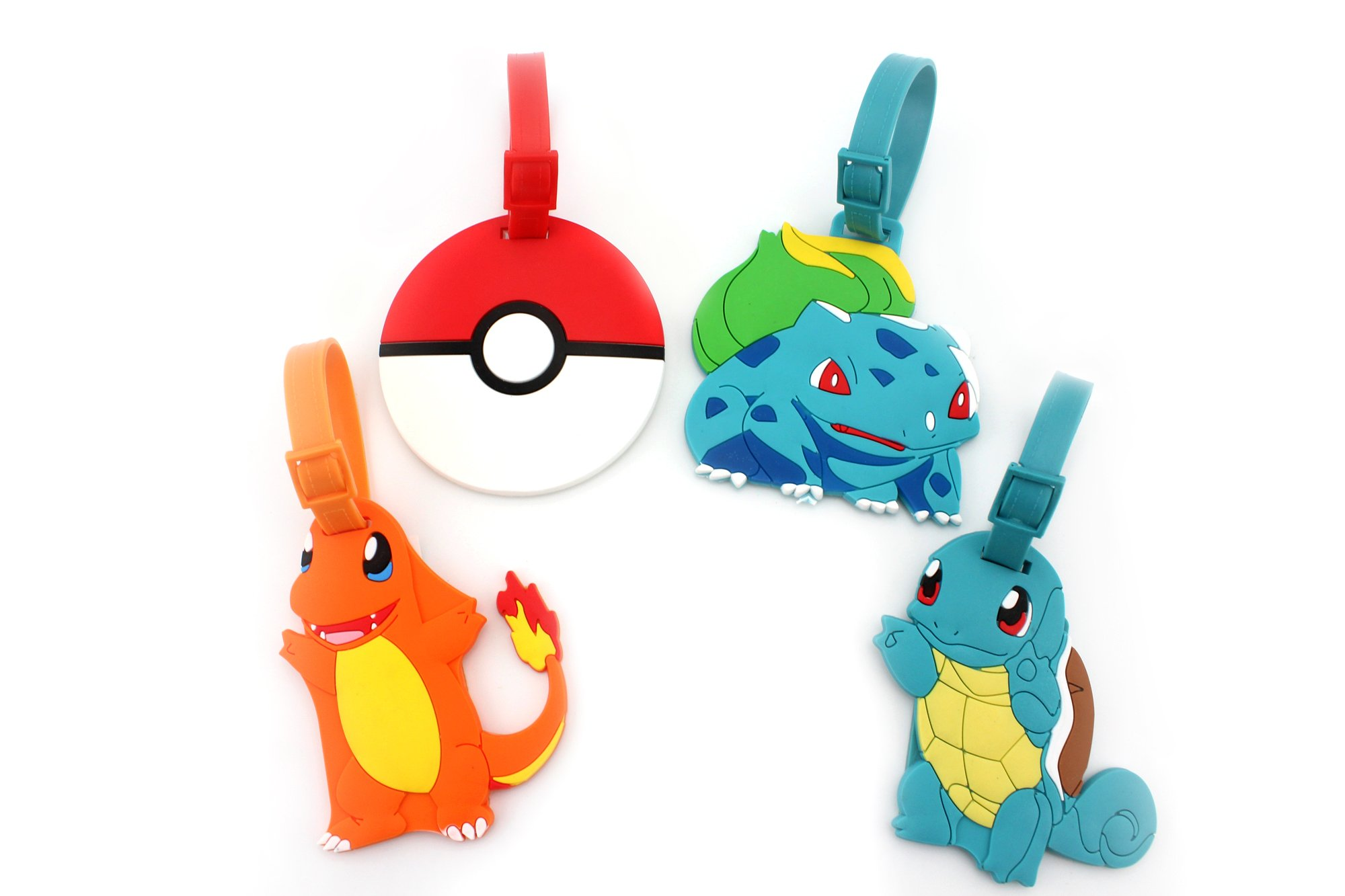 charmander bulbasaur and squirtle