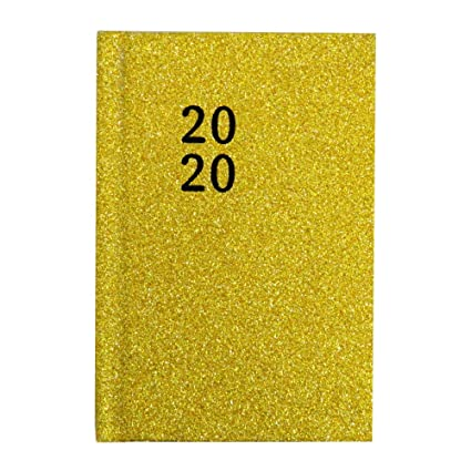 2020 - Agenda de bolsillo (vista semanal, 3 colores, tamaño ...