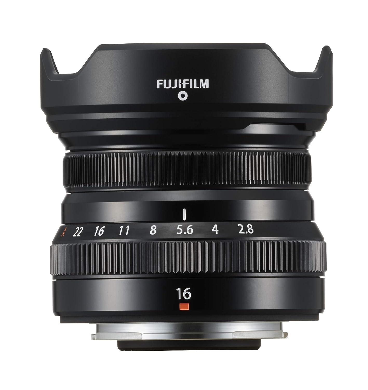 Fujifilm FUJINON XF 16 mm F2.8 R WR Color Negro