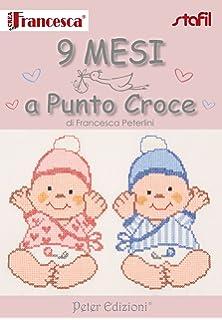 Amazon It 100 Schemi Corredino A Punto Croce Francesca
