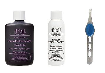 8c37fd0ff67 Ardell Lashtite Adhesive, Dark, 0.75 fl.oz. Bottle (Including Ardell  LashFree