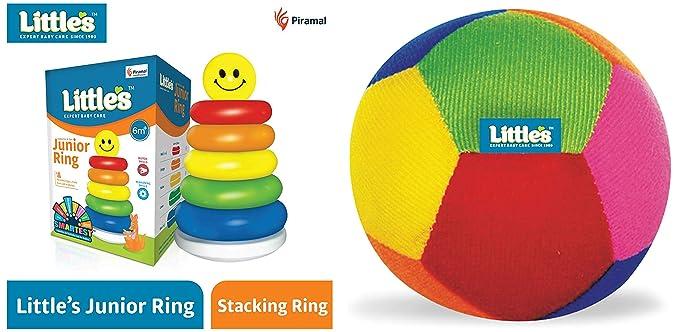 Little's Junior Ring (Multicolour) & Baby Ball (Multicolour)