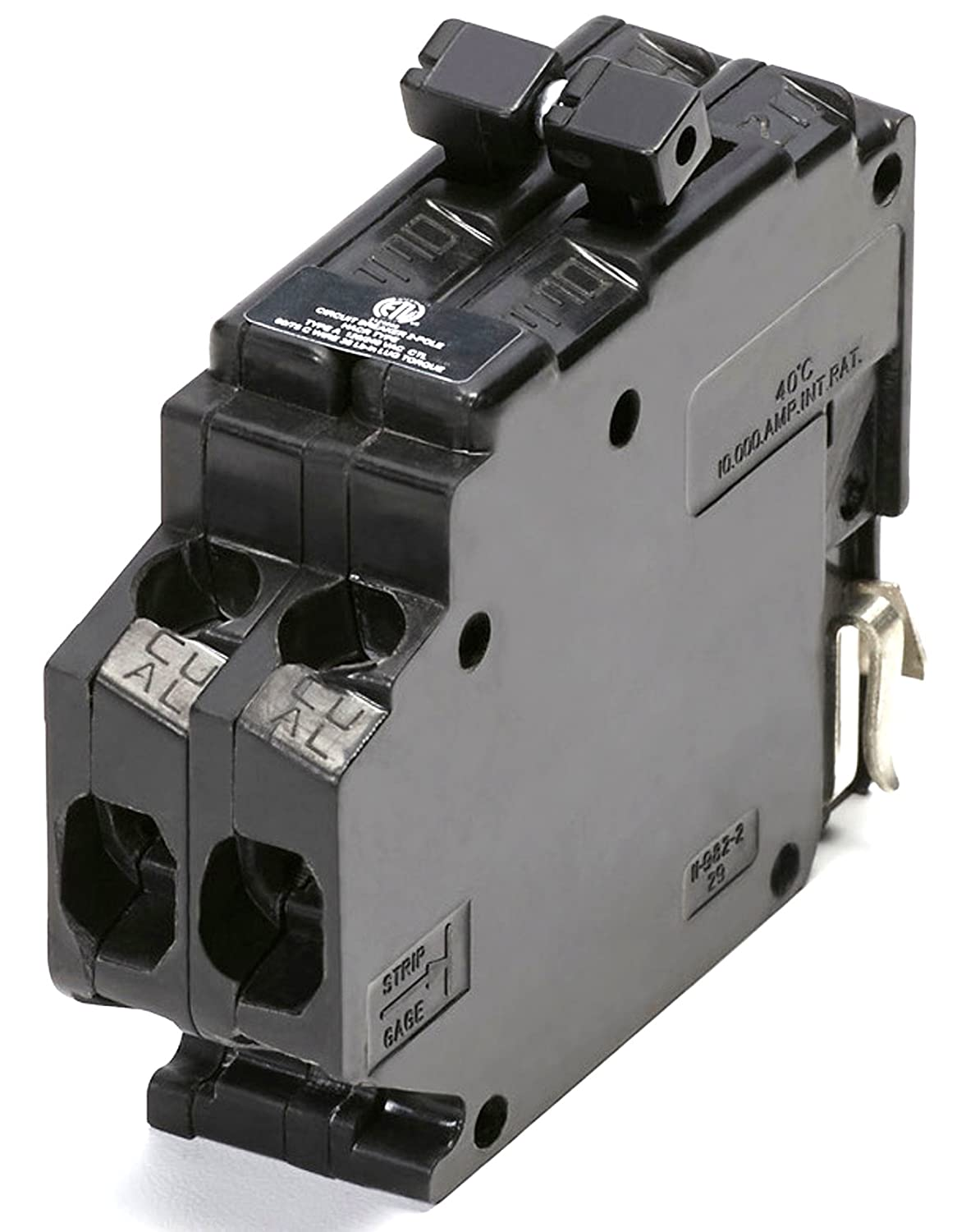 Connecticut Electric UBITB-A250 New Challenger MH250 Type-A Replacement   Two Pole 50 Amp Clip Circuit Breaker Manufactured