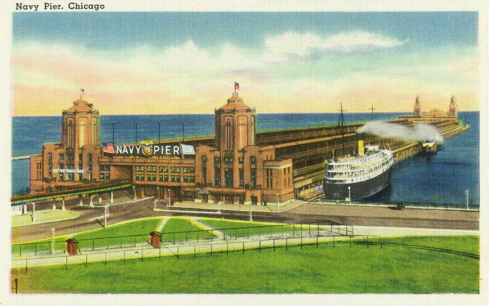 シカゴ、イリノイ州 – Panoramic View Of Navy Pier 16 x 24 Giclee Print LANT-26779-16x24 B00QPYSKQ6 16 x 24 Giclee Print