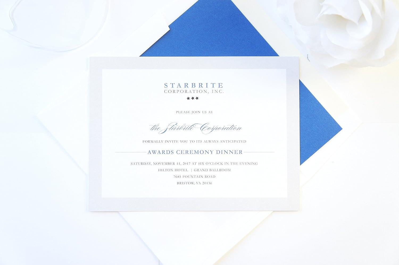 Amazon.com: Corporate Invitations, Company Invitation, Meeting ...