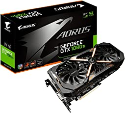 Gigabyte GV-N108TAORUS-11GD Tarjeta Video GeForce GTX 1080 Ti 11GB GDDR5X, 1594 MHz, 2-Way SLI, 1708 MHz
