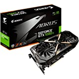 Gigabyte AORUS NVIDIA GeForce GTX 1080 Ti 11G 11 GB GDDR5x 352 Bit Memory PCI Express 3 Graphics Card - Black