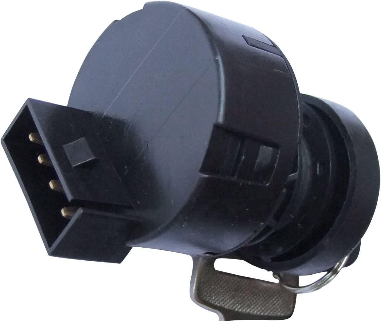 Hity Motor 4 Pin Ignition Key Switch For POLARIS SPORTSMAN 500 2000 2001 500 HO 2002 2003 ATV Replaces 4012163//4110264