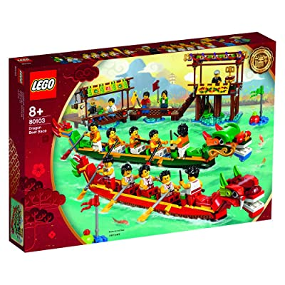 LEGO 80103 Chinese Dragon Boat Race 2020 Asia Exclusive: Toys & Games