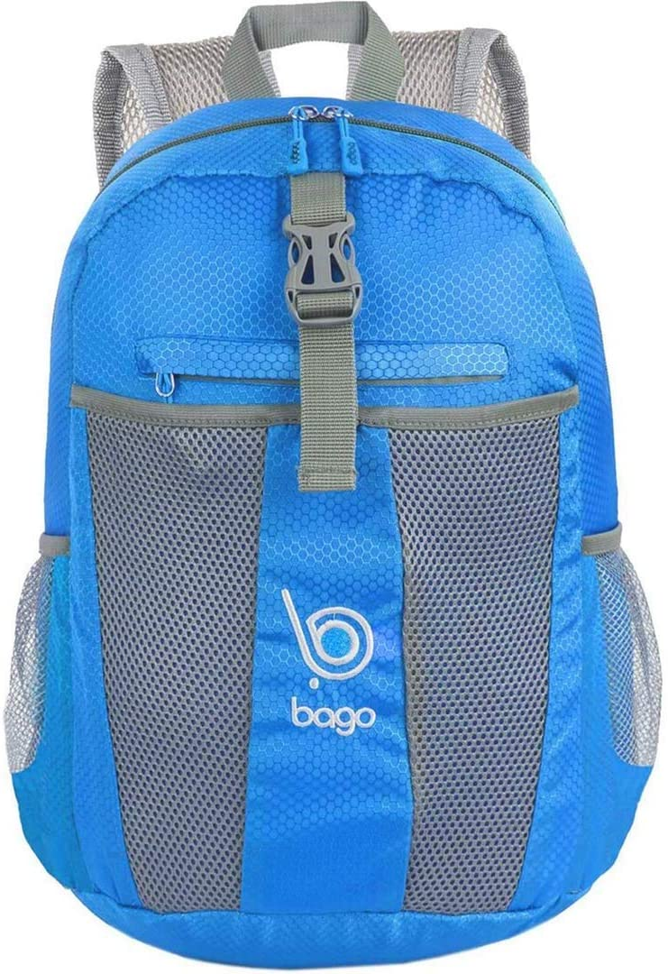 Bago 25L Packable Lightweight Backpack – Travel and Hiking Foldable Daypack