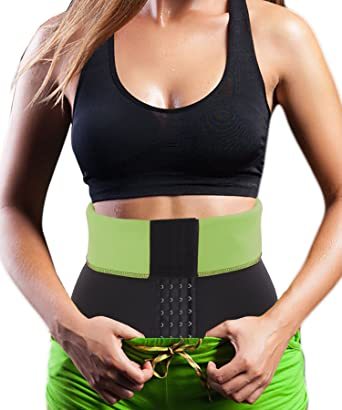 f35e60bfefec2 Hot Thermo Sweat Neoprene Shapers Slimming Belt Waist Cincher Girdle Body  Trainer  Amazon.co.uk  Clothing