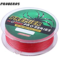 Zorbes PROBEROS 100M Durable Colorful PE 4 Strands Monofilament Braided Fishing Line Angling Accessory