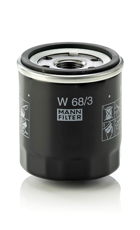 Mann Filter W 68/3 Filtro de Aceite MANN & HUMMEL GMBH