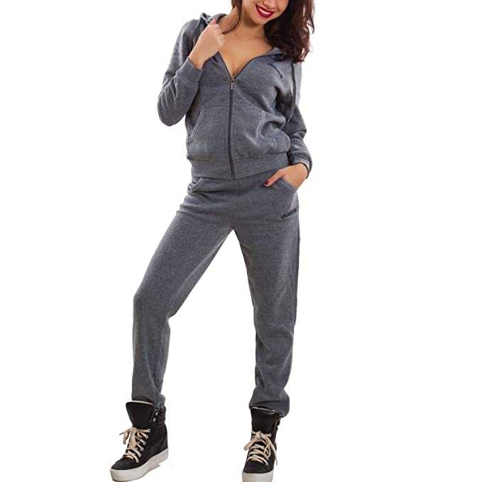 new concept 48fe7 b2144 Toocool - Tuta Donna Completo Pantaloni Felpa Cappuccio ...