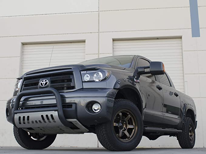 Matte Black W//Aluminum Skid Plate Armordillo USA 7144149 Classic Bull Bar Fits 2006-2014 Honda Ridgeline