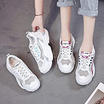 Sock Sneakers for Women の Lite Tech Running Shoes with Wedge Air Cushion Slip On High Top Trainer 2019 Fall-Winter
