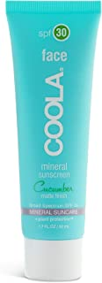 product image for COOLA Organic Mineral Matte Face Sunscreen & Sunblock, Skin Care for Daily Protection, Broad Spectrum SPF 30, Reef Safe, Cucumber, 1.7 Fl Oz