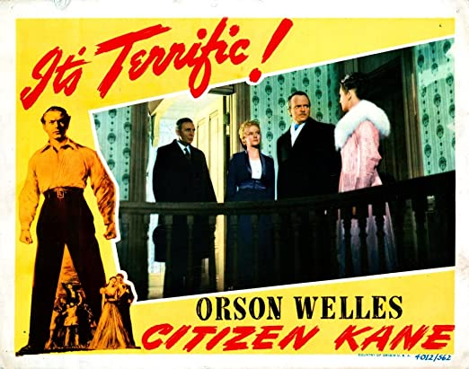 Citizen Kane Orson Welles item 3 movie poster print