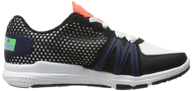 adidas Performance Women's Ively Cross-Trainer Shoe B01DTHPK5U 9 B(M) US|White/Black/Solar Red