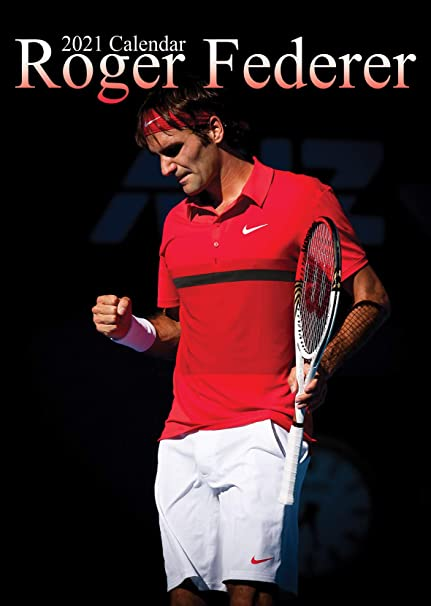 Roger Federer Calendrier 2021 A3: Amazon.fr: Fournitures de bureau