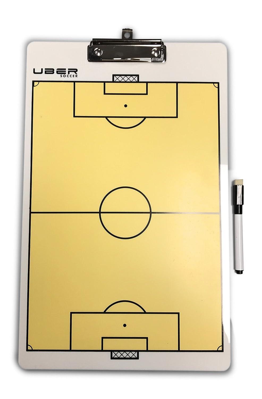 Amazon.com: Uber Soccer portapapeles con marcador de borrado ...