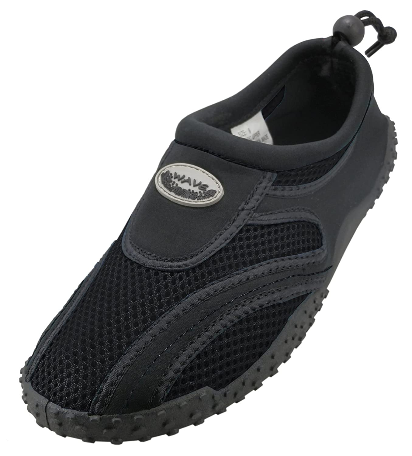 Big Kid Cambridge Select Kids Quick Dry Mesh Drawstring Non-Slip Water Shoe