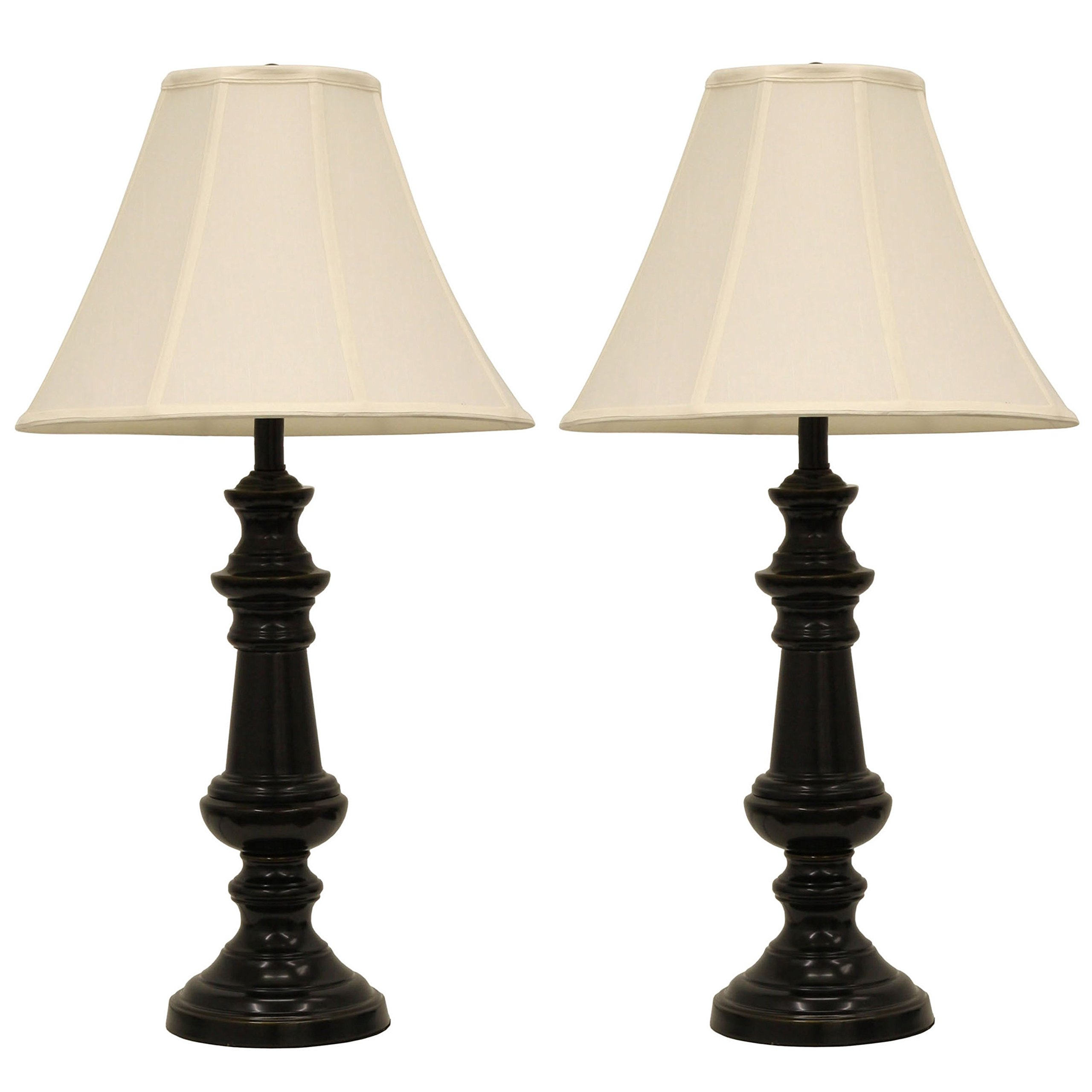 Décor Therapy MP1991 Pair of Touch Control Bronze Table Lampsbronze