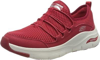 comida partido Democrático Tarjeta postal  Skechers Arch Fit, Zapatillas para Mujer: Amazon.es: Zapatos y complementos
