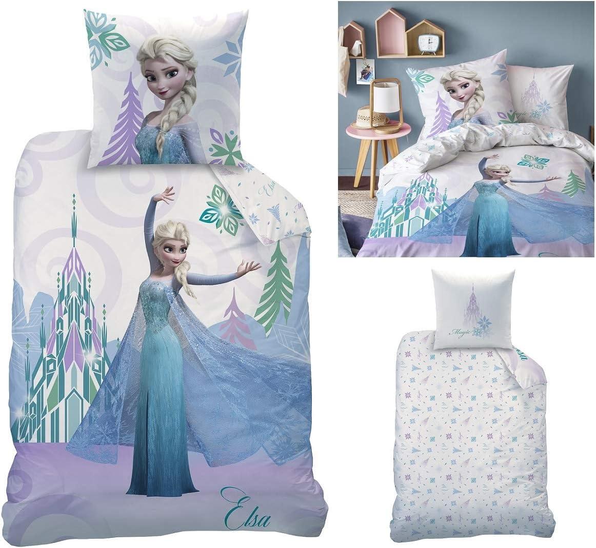Ropa de cama reversible, de franela, diseño Frozen, modelo 044942 ...