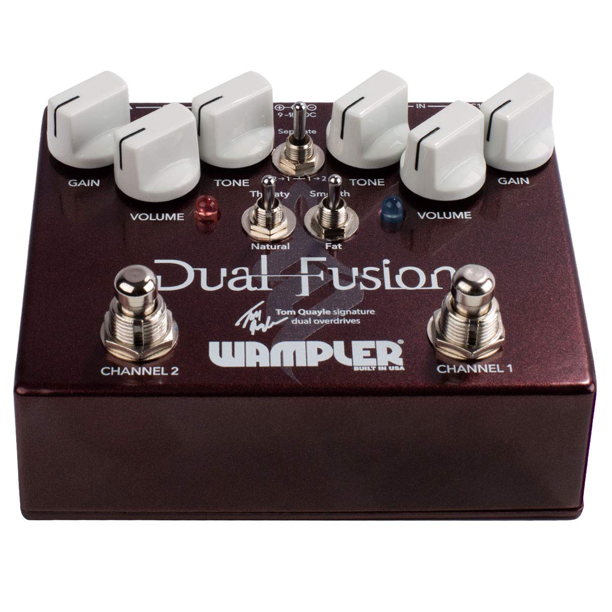 Wampler Dual Fusion V2 Effects Pedal