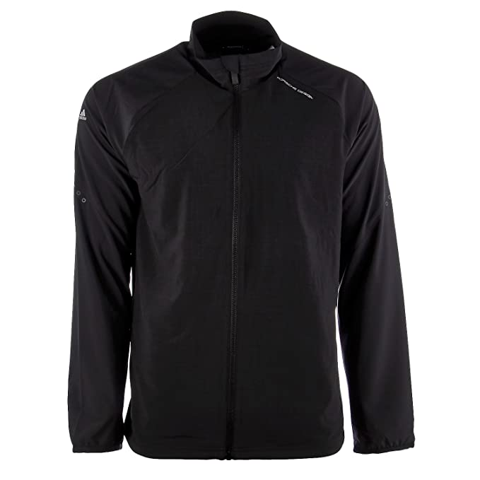 Porsche Design by Adidas Sport Training Suit Athletic Track Jacket - Black  - Mens - M 74ae4bbe8eed