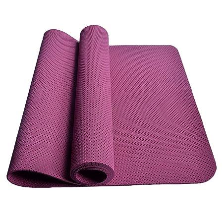 SHLYXY Cojín de Yoga Mat Aerobic Sienta Encima de 4 Colores ...