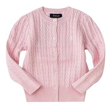 e080c5be4d9282 ポロ ラルフローレン キッズ ケーブルニット カーディガン Cotton tops sweater 女の子 子供服 (サイズ: