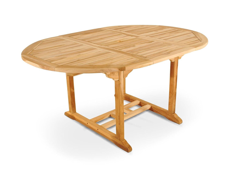 SAM® Garten-Tisch Borneo, Gartenmöbel aus Teak-Holz, Auszieh-Tisch ...