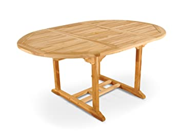 Sam® Borneo Table de jardin meubles de jardin en bois de teck ...