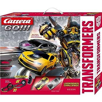 Stadlbauer 20062334 - Set macchinine da Corsa con Pista Transformers