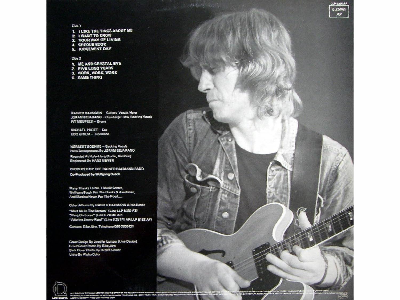 Same Thing Vinyl Lp Record Schallplatte Rainer Baumann Band